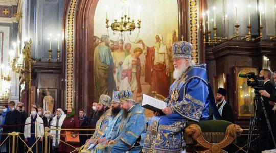 Le patriarche de Moscou Cyrille : « Si notre peuple n'avait pas besoin du développement de la vie ecclésiale, il n'y aurait pas non plus de nouveaux diocèses »