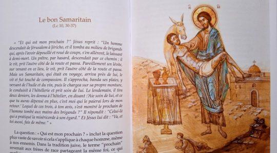 Vient de paraitre : « Les paraboles de l'ami des hommes » du père Michel Quenot